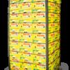 caja de plátano amarillo